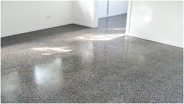 factors affecting the cost of polished concrete floors spotting it. Black Bedroom Furniture Sets. Home Design Ideas