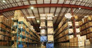 Using Longspan Racking in a warehouse.
