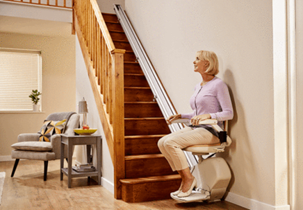 Acorn Mobility Stairlift | Mobility World Mobility Aids