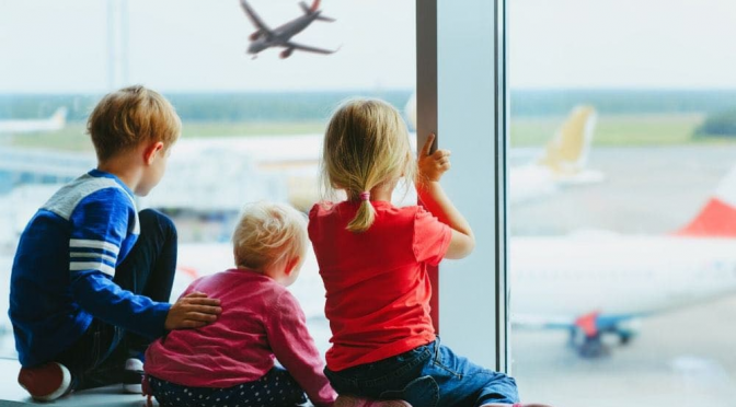 Tips For Travelling with Young Children